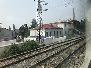 201906 Station Building of Henggouqiao Station.jpg