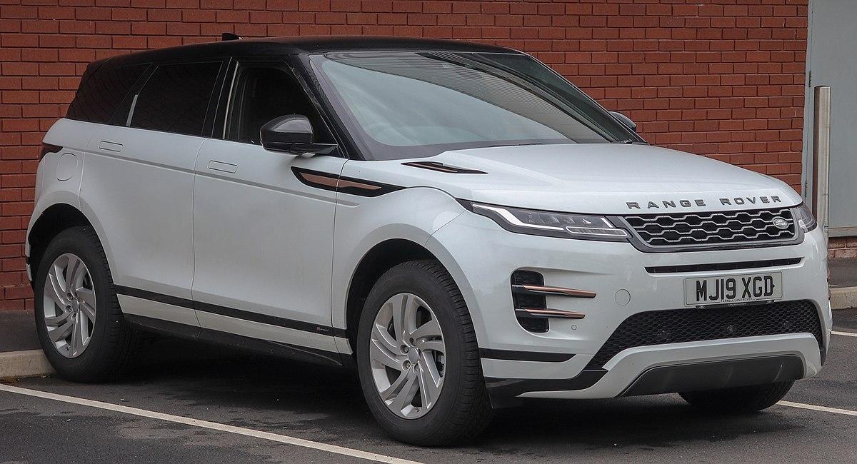 Range Rover Evoque >> Range Rover Evoque Wikipedia