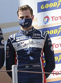 Jonathan Aberdein South African racing driver