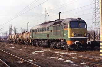 M62 locomotive - ST44-133