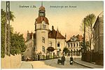 21624-Oederan-1920-Bahnhofstraße und Post-Brück & Sohn Kunstverlag.jpg