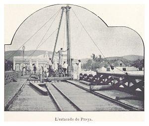 Gamboa, Praia - Gamboa, Praia during Vandrunen's visit to Praia, Cape Verde in 1899