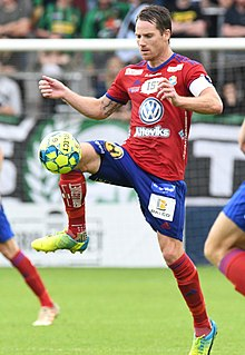 Johan Persson (footballer) Swedish footballer