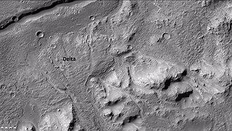 Holden (Martian crater) - Image: 26126contextb 22 018333 1548delta