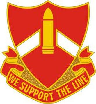28th Field Artillery Regiment - Image: 28 FA Rgt DUI
