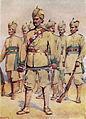 33rd Punjabi Army (Commander Punjabi Subadar) by A C Lovett.jpg