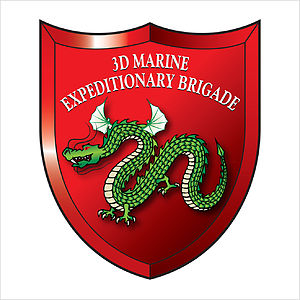 3rd Marine Expeditionary Brigade (United States) - 3rd MEB insignia