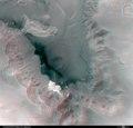 3D anaglyph view of Juventae Chasma ESA228571.tiff
