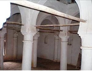 Kingdom of Ait Abbas - Elements of Andalusian architecture of the Mausoleum of Sultan Ahmed.