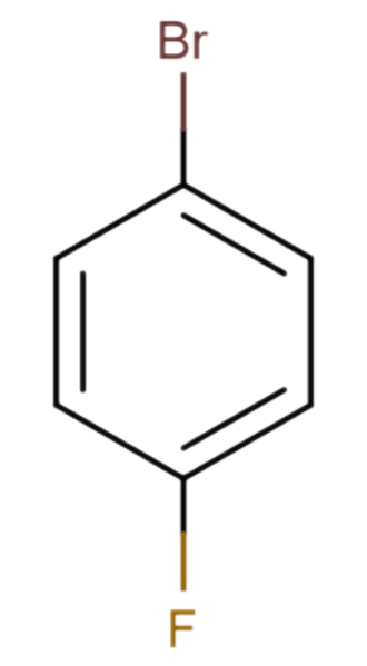 4-Bromofluorobenzene - Image: 4 Bromofluorobenzene re re edit
