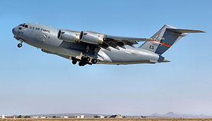 418th Flight Test Squadron - Image: 418th Flight Test Squadron Mc Donnell Douglas YC 17A Lot I Globemaster III 87 0025
