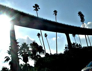 Southeast San Diego - 43rd St. Overpass by I-805. Lincoln Park