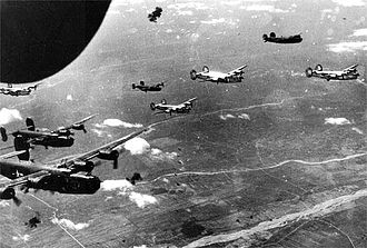 450th Bombardment Group - B-24s of the 450th Bomb Group