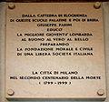 4869 - Milano - Scuole Palatine - Lapide a Parini sotto il portico (1999) - Foto Giovnni Dall'Orto, 23-Jan-2008.jpg