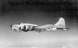493d Bombardment Group - Boeing B-17G-85-BO Fortress Serial 43-38395 of the 493d Bomb Group.