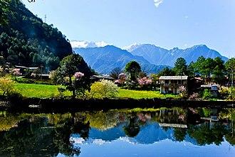 Gongshan Derung and Nu Autonomous County - Image: 5.southern Chinese riverside town——Ridang