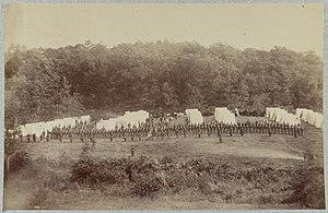 50th Pennsylvania Infantry, Gettysburg, Pa., July, 1865 LCCN2012649368