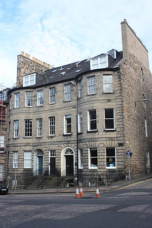 Cosmo Innes - The Innes office at 51 North Castle Street, Edinburgh (right door)