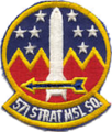 571st Strategic Missile Squadron - SAC - Emblem.png
