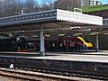 60163 Tornado and 222003 Tornado 24 March 2009 Sheffield Midland station pic 2.jpg