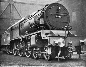 High-pressure steam locomotive - 6399 ''Fury''