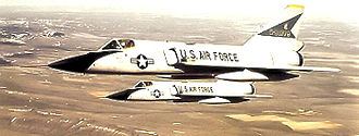 71st Fighter Training Squadron - F-106s of the 71st Fighter-Interceptor Squadron, about 1970