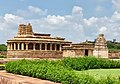 8th century Durga temple exterior view, Aihole Hindu temples and monuments 4.jpg
