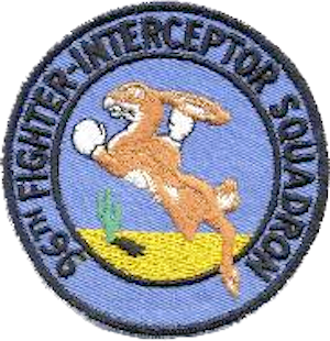 96th Flying Training Squadron - 96th Fighter-Interceptor Squadron Patch