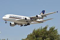 9V-SKM - A388 - Singapore Airlines