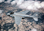 A-6E Intruder over Spain in Operation Matador