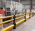 A-SAFE flexible polymer guardrail with handrail for pedestrians.jpg