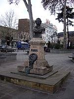 A. Pushkin statute in Tbilisi.JPG