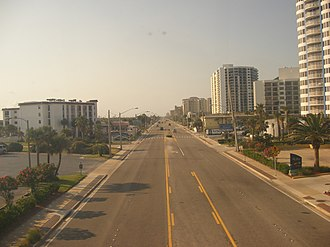 Daytona Beach Shores, Florida - Image: A1ANorth DB Shores