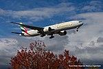 A6-EGX Boeing B777-31HER B77W - UAE (22618928441).jpg