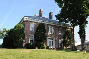 National Register of Historic Places listings in Barbour County, West Virginia - Image: ADALAND, PHILIPPI, BARBOUR COUNTY, WV