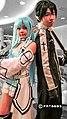 AMG14 cosplayers of Asuna and Kirito from Sword Art Online 20140809.jpg