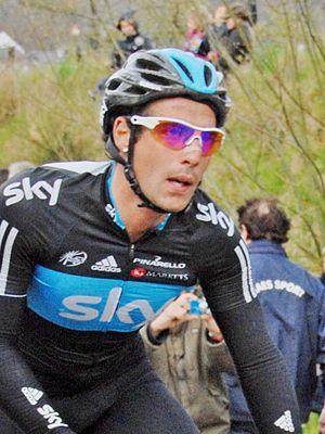 Davide Appollonio - Appollonio at the 2012 Liège–Bastogne–Liège