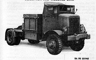 Autocar U8144T 5- to 6-ton 4×4 truck 5–6 ton 4×4 semi-tractor