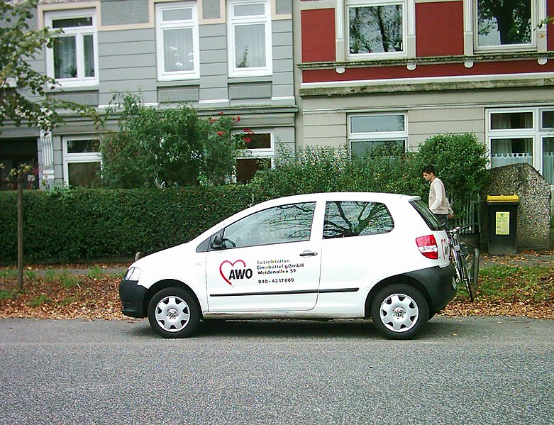 Auto der AWO in Hamburg