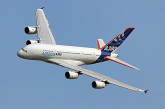 Airbus - The Airbus A380, the largest airliner