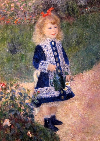 File:A Girl with a Watering Can.JPG