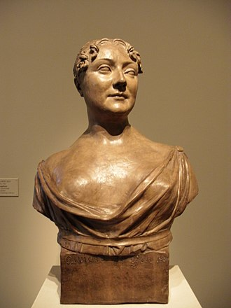 Joseph Chinard - A Lady, terra cotta of 1816 in the National Gallery