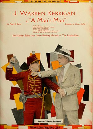 J. Warren Kerrigan - A Man's Man (1917)