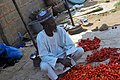 A Nigerian Tomatoes seller on the roadside in Ilorin6.jpg