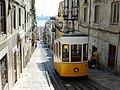 A cable car in Lisbon.JPG