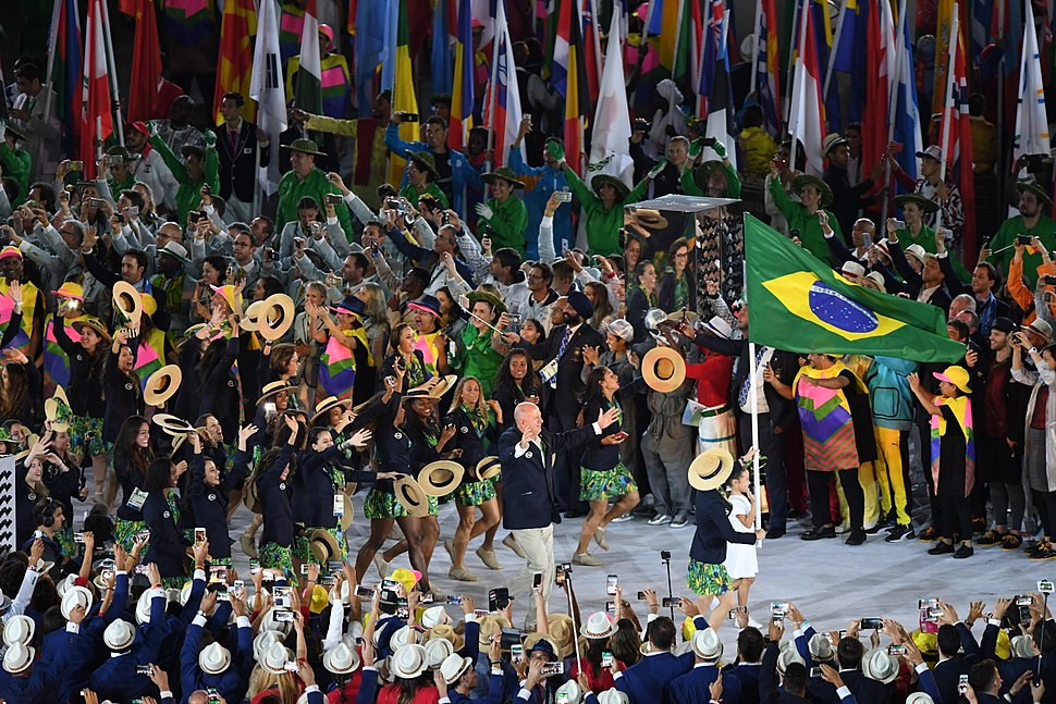 A scene from the Rio 2016 Olympic Games Opening Ceremony (28210365734)