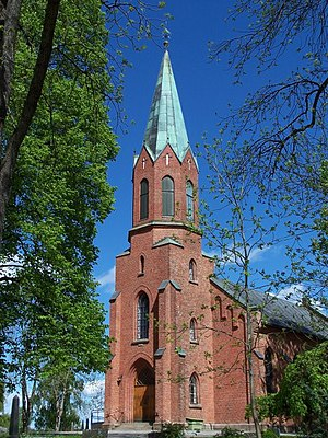 Ås, Akershus - Image: Aaskirke