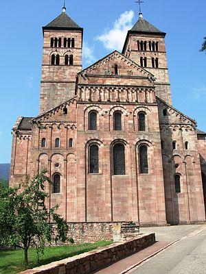 Route Romane d'Alsace - Murbach