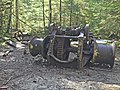 Abandoned Machinery near Opal Creek Wilderness, Willamette National Forest (25966856225).jpg