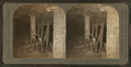 Abandoned mine showing how prop timber is used to support roofs of tunnels, Scranton, Pa., U.S.A, from Robert N. Dennis collection of stereoscopic views.png